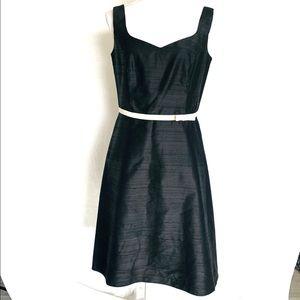 🌿ABS Allen Schwartz Classic Silk Dress Size 10🌿